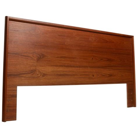 teak headboard scandinavian modern california king headboard in teak for