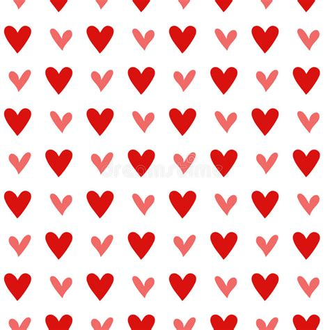 vintage heart pattern seamless vintage heart pattern background stock image