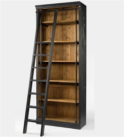 reclaimed wood furniture rustic bookcases new york by zin home