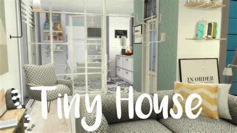 sims  speed build tiny house  cc links youtube