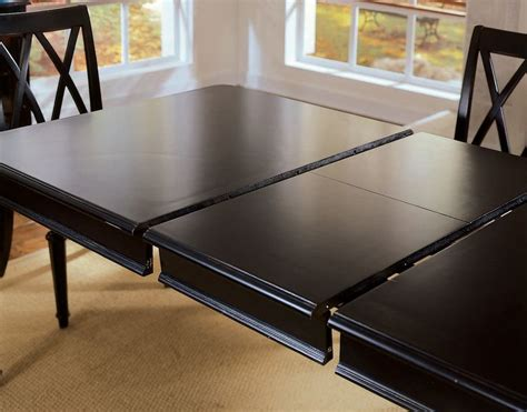 rectangular dining room tables with leaves make your dining table bigger choosing the right leaves