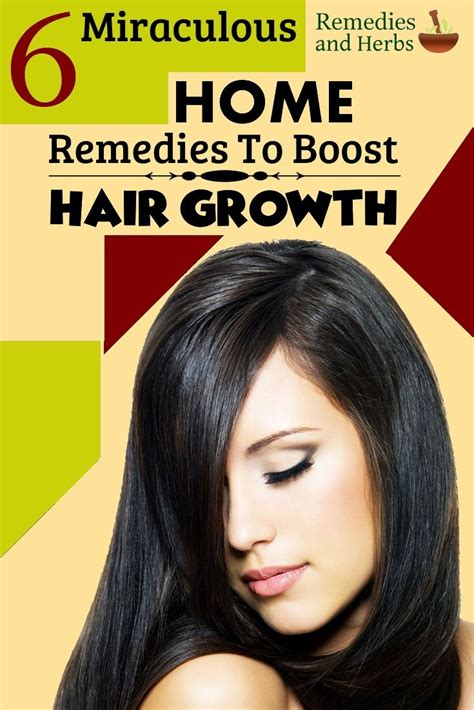 6 miraculous home remedies to boost hair growth diy home