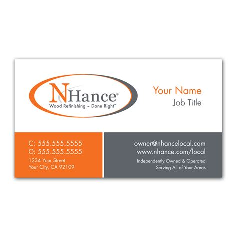 Business Cards Franchise n hance business cards franchise print shop