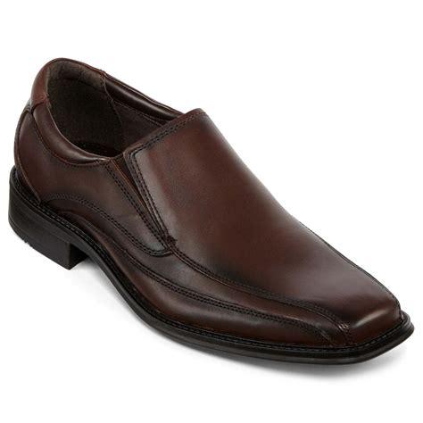 slip on dress shoes upc 001425130075 dockers franchise mens slip on dress