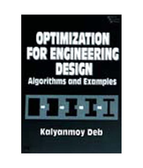 online design and engineering optimization for engineering design algorithms and