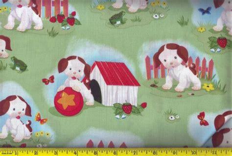 poky puppy fabric poky puppy fabric lillian s bday ideas