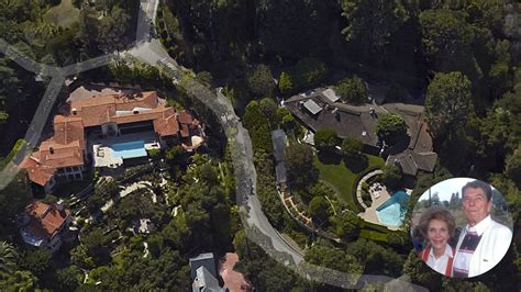 reagan house bel air ronald and nancy reagan s former bel air home sells for
