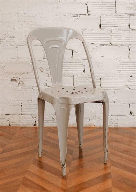 Chaise Tole tolix chaise a chaises en m 233 tal chaises en tole