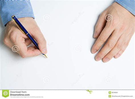 person writing on paper person writing on paper royalty free stock image image