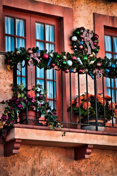 christmas at the balcony balcony d 233 cor ideas godfather style