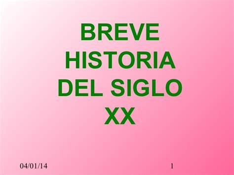 breve historia de espaa 8491047565 breve historia del siglo xx