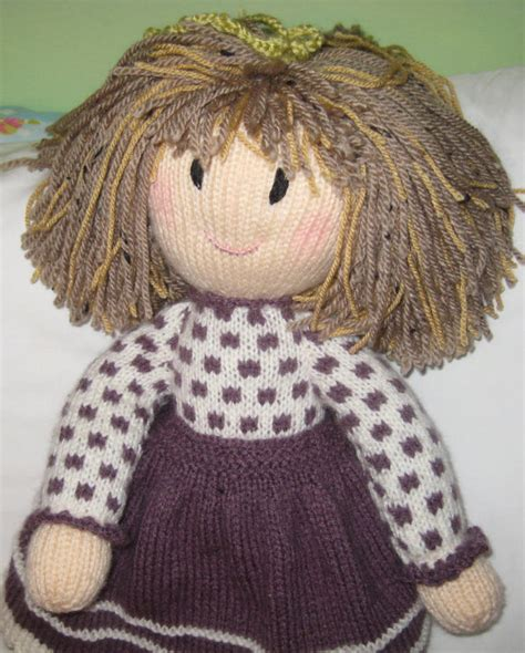 Handmade Knitted Dolls - knitted doll