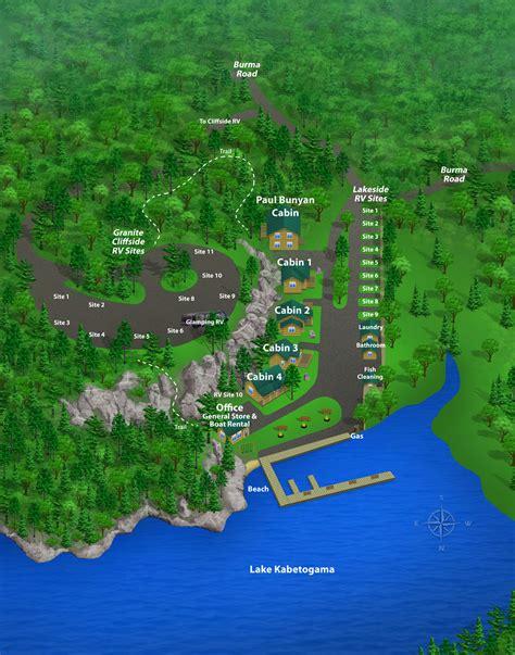 boat rental pine river mn resort property map the pines resort lake kabetogama