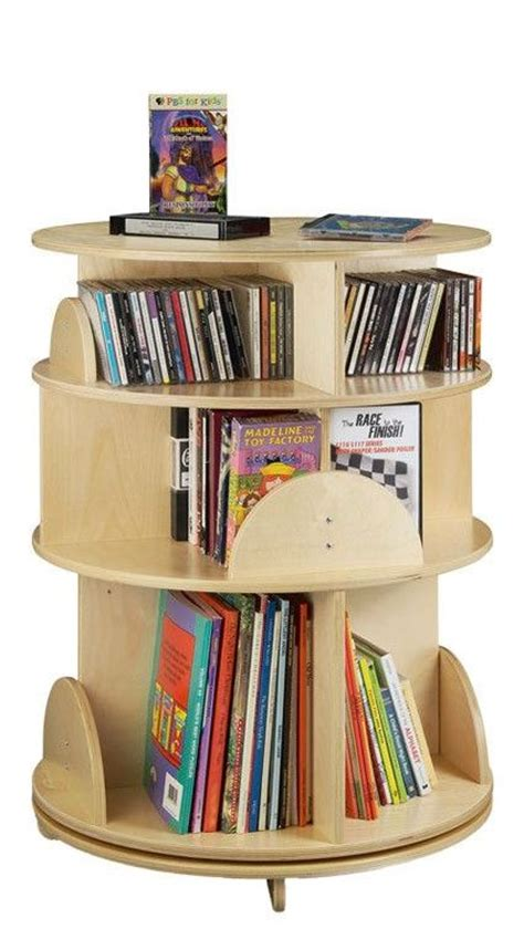 25 best ideas about revolving bookcase on