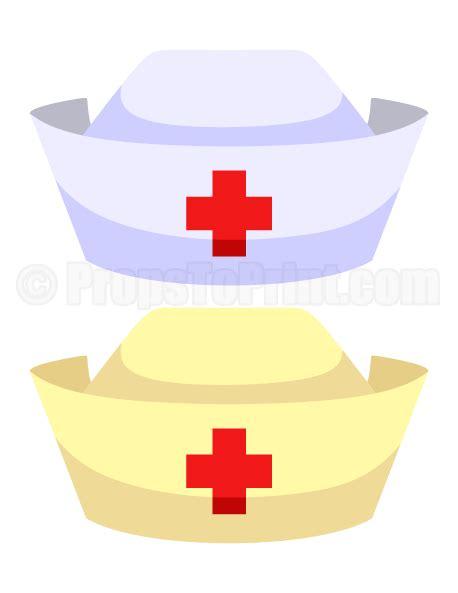 printable nurse photo booth props printable nurse hat photo booth prop create diy props