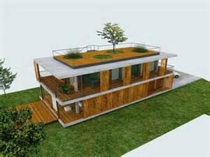 plans d une contemporaine avec toit terrasse