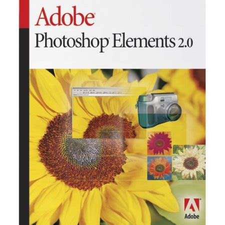 tutorial adobe photoshop elements 4 0 adobe photoshop elements 2 0 pc walmart com