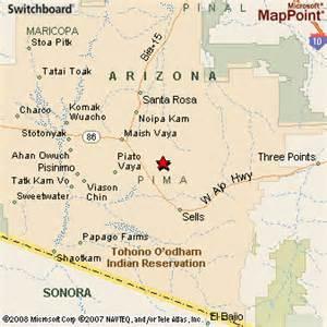 san arizona map san luis arizona