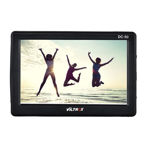 Viltrox Dc 50 Clip On Portable 5 Battery Charger מוצר Viltrox Dc 50 Portable 5 Clip On Lcd Hdmi