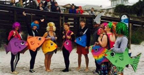polar plunge costumes school  fish  festive