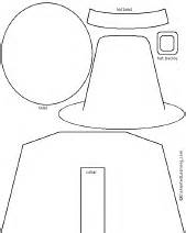 pilgrim hat cut out template pilgrim collage craft enchanted learning software