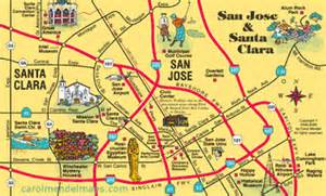 Map Of San Jose Area by San Francisco Amp The Bay Area Visitor S Map
