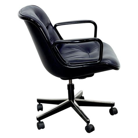 used swivel chairs knoll pollock executive leather used swivel chair blue
