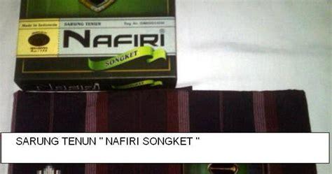 Sarung Nafiri Songket Sarung Tenun Quot Nafiri Songket Quot Sarung Murah Surabaya
