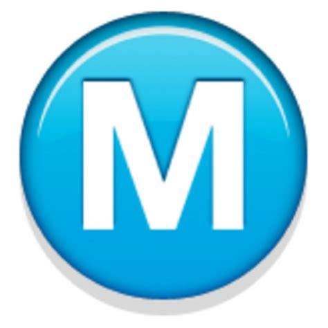 Letter Emoji Meaning Circled Capital Letter M Emoji U 24c2 U E434 U 24c2 U Fe0f