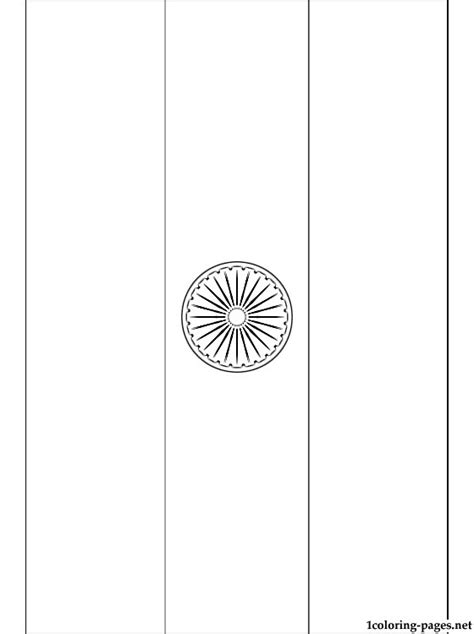 coloring page for indian flag india flag coloring page coloring pages
