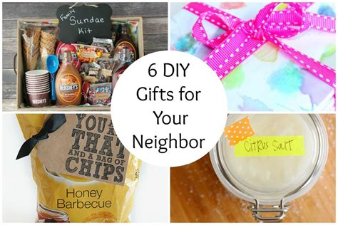 six sisters neighbor gifts 6 diy gifts for your