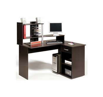 Moving Desk by Furniture123 Moving Computer Desk In Wenge Review