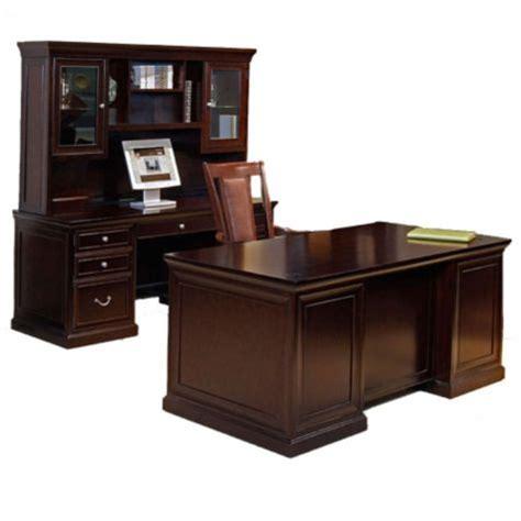 espresso office furniture fulton espresso three office set by martin