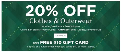 Ll Bean Promotional Gift Card Code - ll bean coupons printable coupons in store coupon codes