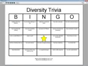 diversity bingo template view document diversity trivia bingo cards