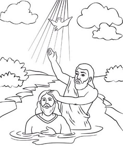 imagenes sobre la vida de jesus para colorear hermosas y conmovedoras imagenes del bautismo de jesus