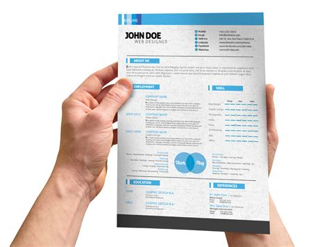 updating resume or brochure with your content by gi envato studio
