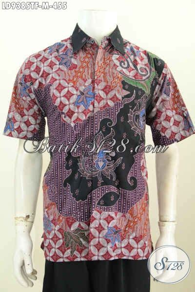 Baju Korpri Wanita Furing Size hem batik pria lengan pendek premium baju batik furing motif bagus tulis asli 455k size m