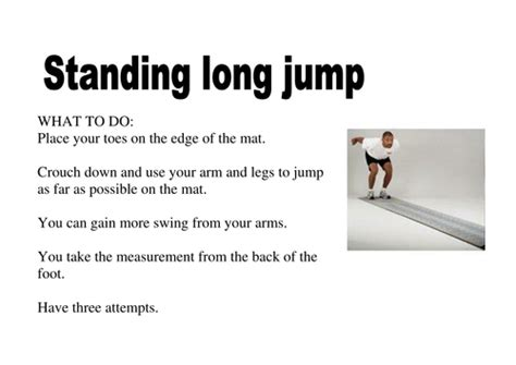 autolen test standing long jump by nwhitby22 teaching resources tes