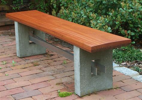 Beautiful Outdoor Benches Complete a Garden