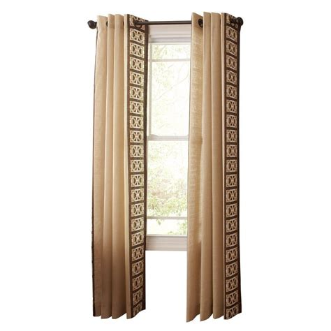 home depot drapes martha stewart living nutshell pageant back tab curtain