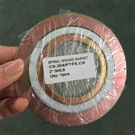 Spiral Wound Gasket Cs Carbon Steel 30 Ansi 150 gasket with neoprene dn150 pn50 insulation gasket pipe fitting landee