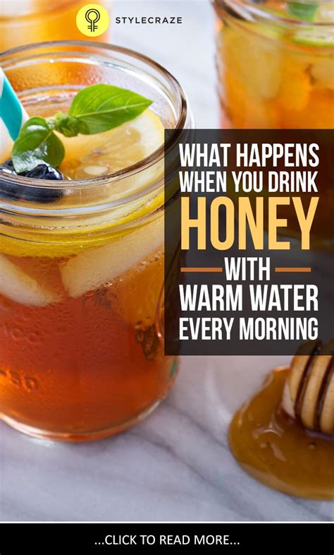 Water Honey Lemon Detox by I Drank Honey With Warm Water On An Empty Stomach Every