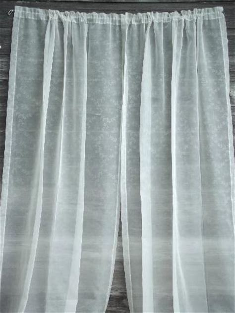 Lot Curtains vintage sheer summer curtains unsorted estate lot vintage drapes sheers