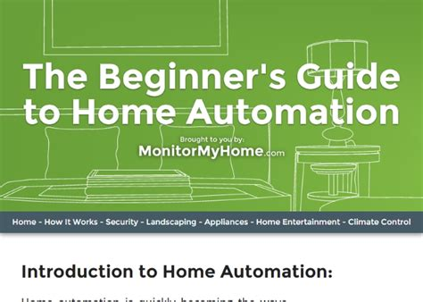the beginner s guide to home automation awwwards nominee