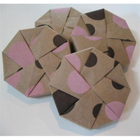 Origami Octagon Box - origami boxes tree hugger box