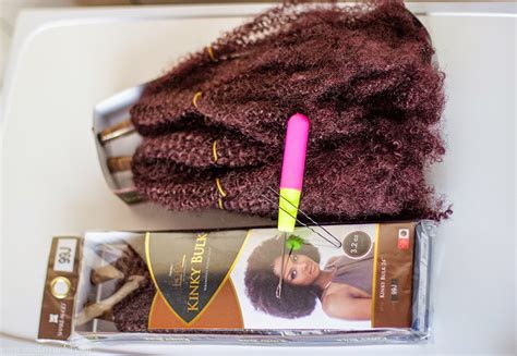 how many bulk packs of hair is needed to braid my hair crochet braids with freetress kinky bulk hair