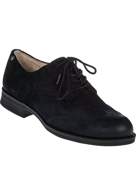 black suede oxford shoes sam edelman iriving oxford black suede in black lyst