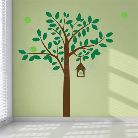 bird and tree wall stickers tree wall sticker 2017 grasscloth wallpaper