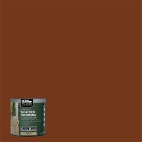 behr premium 8 oz sc130 california rustic solid color weatherproofing all in one wood stain